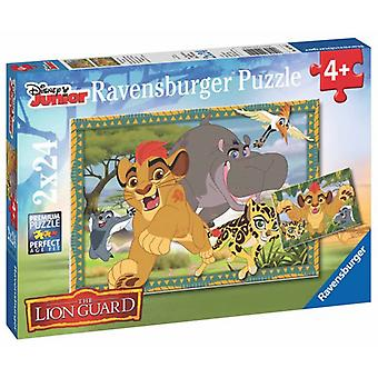 Ravensburger El Rey León Puzzle Doble 24 Piezas (Toys , Preschool , Puzzles And Blocs)