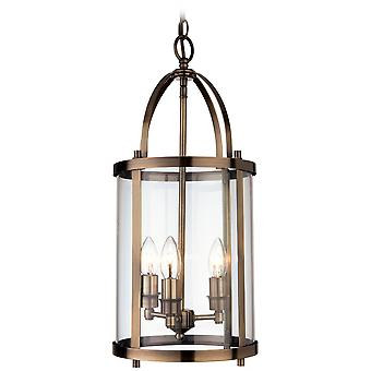 Firstlight Traditional Bronze Lantern Light Fitting