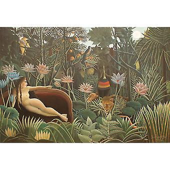 Henri Rousseau - The Dream 1910 Poster Print Giclee
