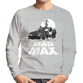 Mad til Max Sam og Max mænds Sweatshirt