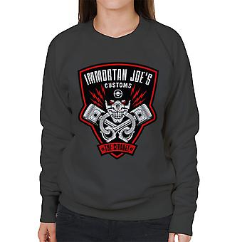 Immortan Joes told Mad Max raseri Road kvinders Sweatshirt