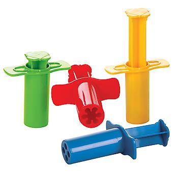 Gowi Toys Modelling Shot (Set of 4) - Dough and Clay Syringes