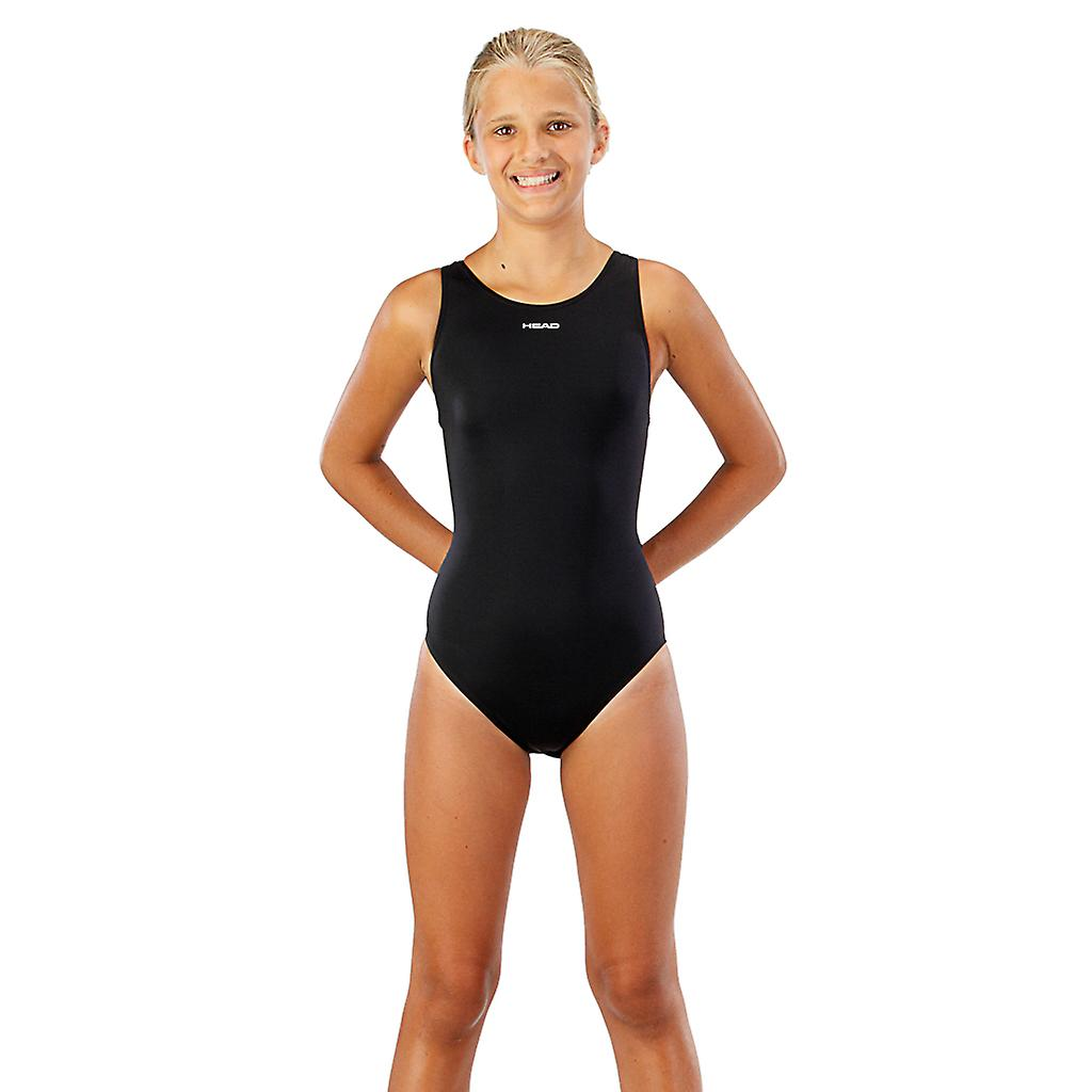 Head Solid Junior Swimsuit - Black