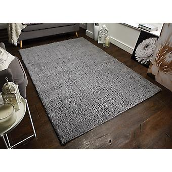 Alfombras Sherwood gris rectángulo alfombras llano casi llanos