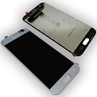 Display LCD complete set GH96 10992A silver for Samsung Galaxy J3 2017 J330F