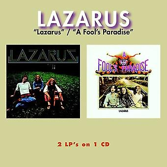 Lazarus - Lazarus / a Fool's paradis (2on1) (2017 genudstede) [CD] USA import