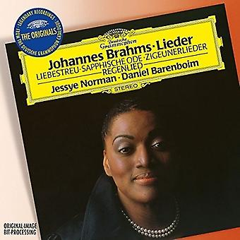 Oder: Norman/Barenboim - Brahms: Lieder [CD] USA Import