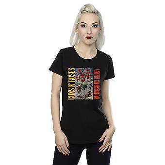 Guns N Roses Women's Appetite Banned T-Shirt