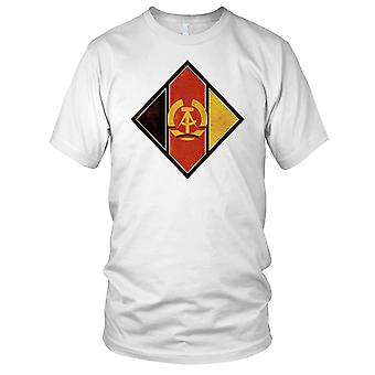 Aircraft Of NVS (East Germany) Nationale Volksarmee Grunge Effect Mens T Shirt