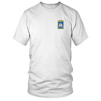 E.U. Marinha CVE-88 USS Cape Esperance bordada Patch - Mens T-Shirt