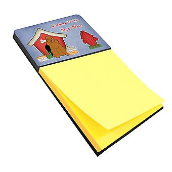 Dog House Collection Cocker Spaniel Red Sticky Note Holder