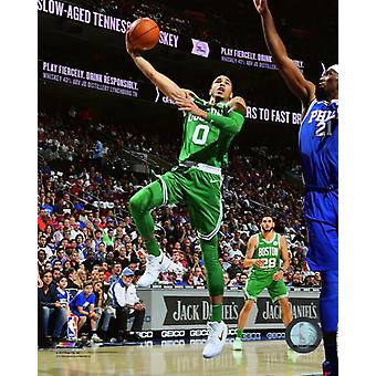 Jayson Tatum 2017-18 Action Photo Print