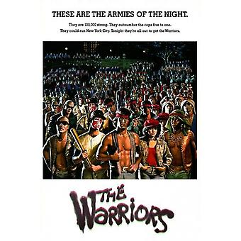 Warriors Gangs Poster Poster Print