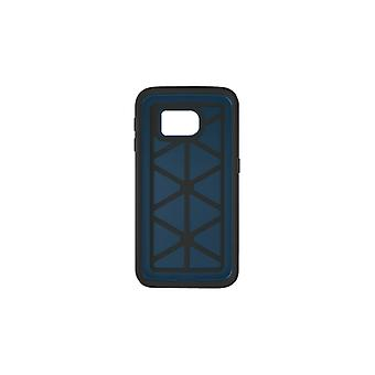 OtterBox Symmetry Series Samsung GALAXY S6-Cover for mobile phone-polycarbonate, synthetic rubber-stadsblå-S
