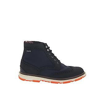 STORMBROGUEHIGHN Blau swims mens leather ankle boots