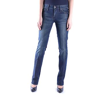 7 for all mankind ladies MCBI004020O Blau cotton of jeans