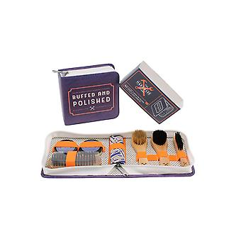 CGB Giftware The Hardware Store Buffed And Polished Shoe Care Kit