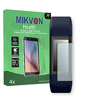 Garmin vivosmart HR+ Screen Protector - Mikvon Health (Retail Package with accessories) (intentionally smaller than the display due to its curved surface)