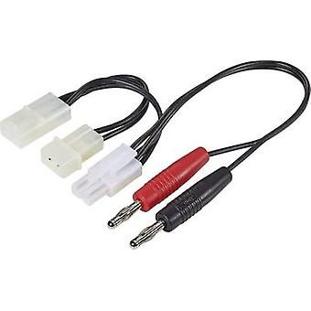 Multi adapter charging cable 250 mm 1.5 mm²