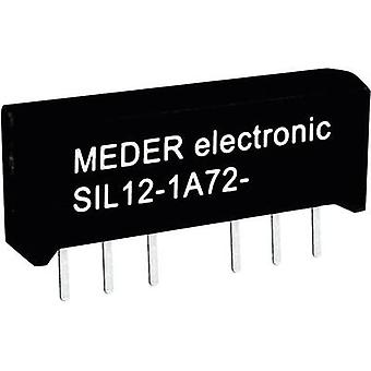 Reed relay 1 maker 24 Vdc 1 A 15 W SIL 4