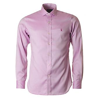 Polo Ralph Lauren Slim Fit lange mouwen niet Iron Shirt