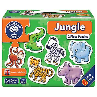 Orchard Jungle 2pc Puzzles