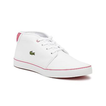 Lacoste Junior White/ Pink AMPTHILL 118 1 Trainers