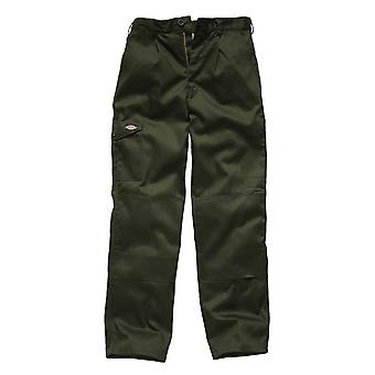 Dickies Mens Redhawk Super Workwear Trousers Olive WD884O