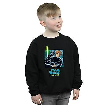 Star Wars Boys Vader And Luke Anime Sweatshirt