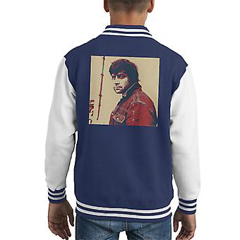 Oliver Reed English Actor Poster Style Print Kid's Varsity Jacket