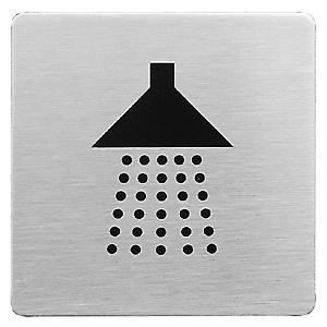 Urban Steel Shower Sign Square 8940