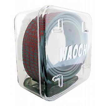 Waooh - Gürtel aus Kunststoff Waooh grau/rot