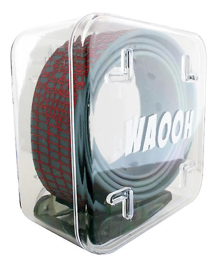 Waooh - belt plastic Waooh grey/red