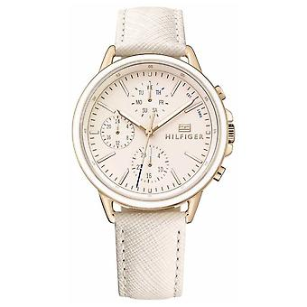 Tommy Hilfiger Lds Rose Gold With Pink Stp 1781789 Watch