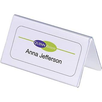 Durable 805119 Desk name plate Paper size=100 x 52/104 mm (W x H)