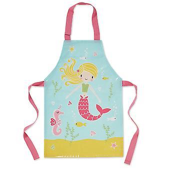 Cooksmart Kids PVC Apron, Mermaid