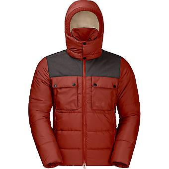 Jack Wolfskin Mens High Range Warm Insulated Windproof Jacket Coat