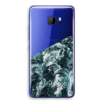 HTC U Ultra Transparent Case (Soft) - Ocean Wave