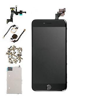 Stuff Certified® iPhone 6 Plus vormontierten Bildschirm (Touchscreen + LCD + Teile) AAA + Qualität - schwarz