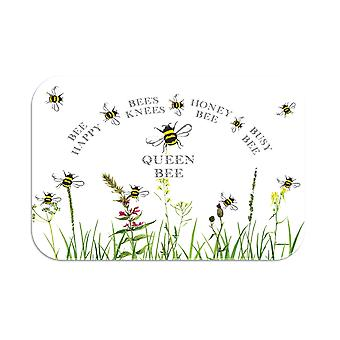Tuftop Medium glatt benkeplate Saver, Bee Design 3 30 x 40cm