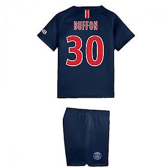 2018-2019 PSG Home Nike Little Boys Mini Kit (Buffon 30)