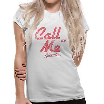 Blondie-Call Me T-Shirt, Women