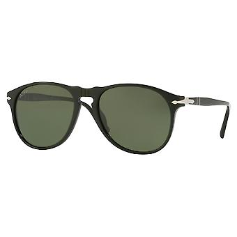 Persol 6649S Black polarisert Green