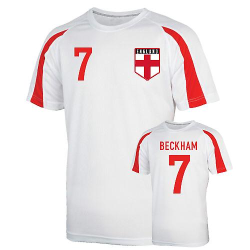 England Sports Training Jersey (beckham 7)