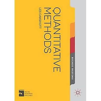 Quantitative Methoden von Les Oakshott - 9781137340856 Buch