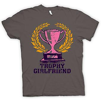 Womens T-shirt - Trophy Freundin - lustig