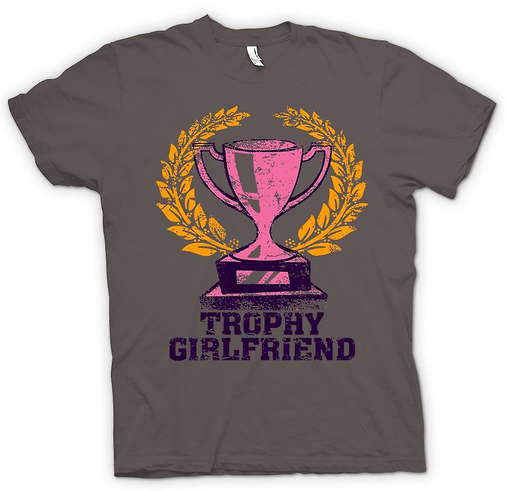 Womens T-shirt - Trophy Girlfriend - Funny