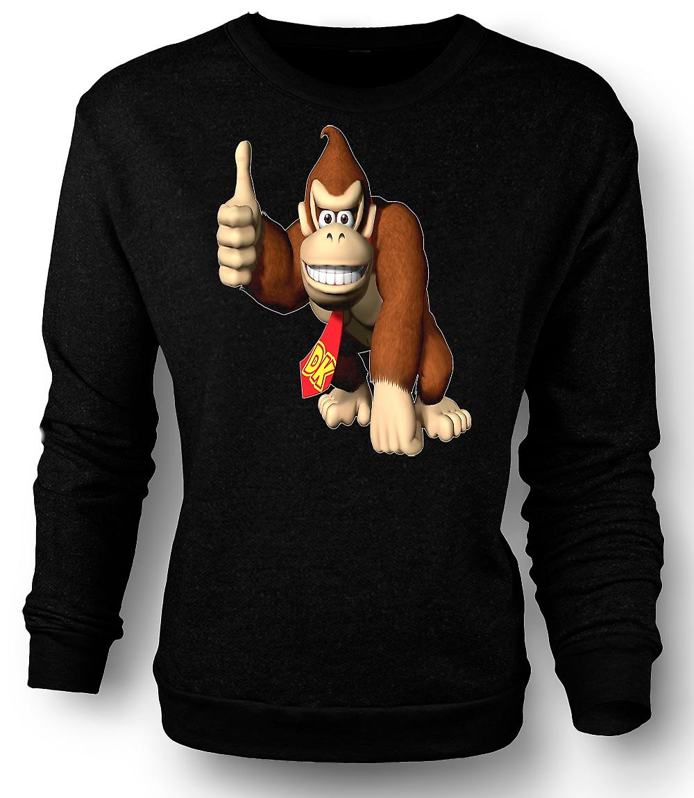 Mens Sweatshirt Donkey Kong Gamer