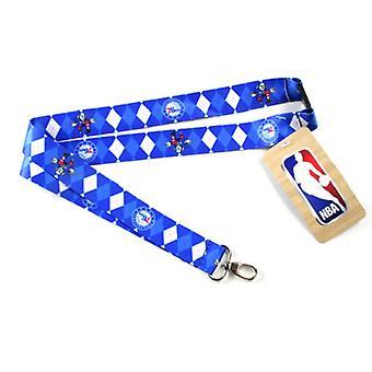 Philadelphia 76ers NBA Argyle Lanyard