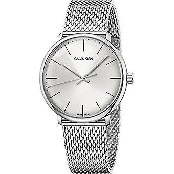 Calvin Klein High Noon Collection Mens Silver Watch K8M21126